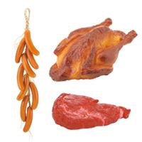 牛肉・鶏肉・ソーセージ